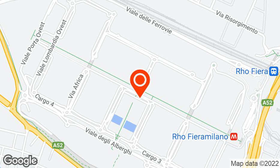 Fiera Milano location map