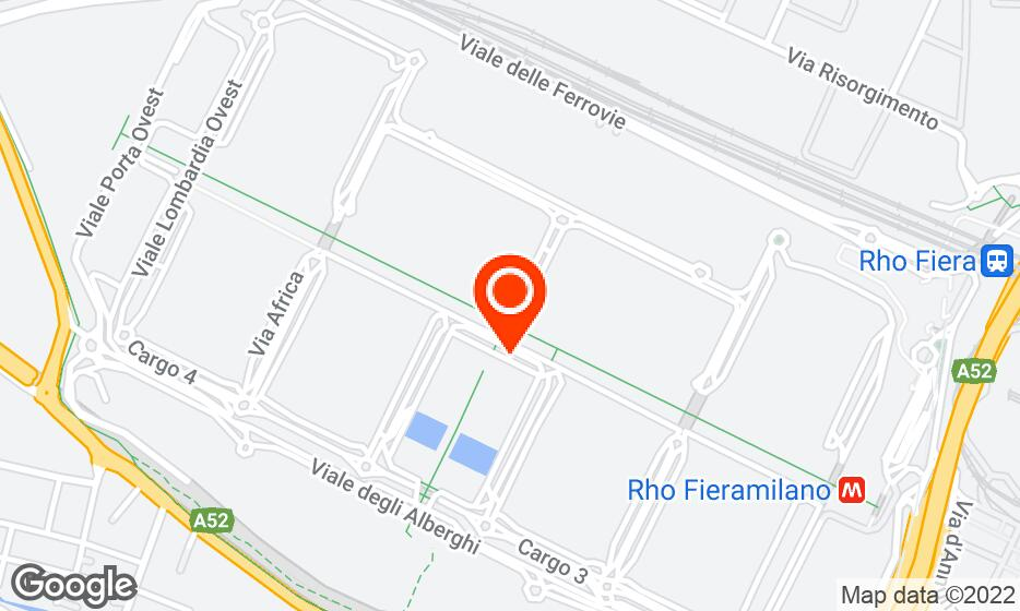 Fiera Milano location map